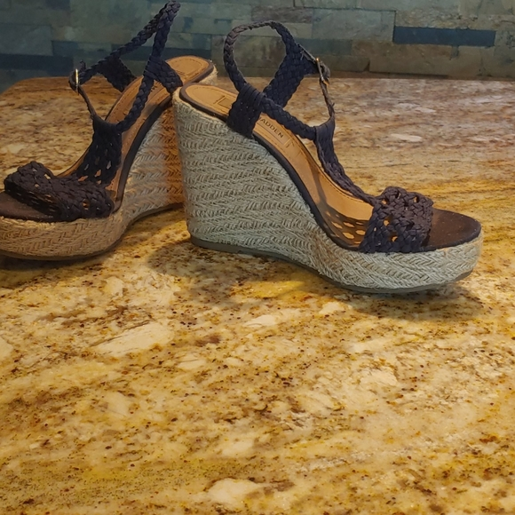 Steve Madden Shoes   Navy Blue Sandals